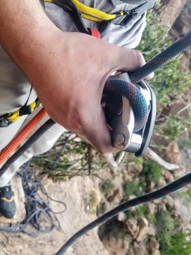 GRIGRI Lead Belay Incorrect